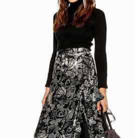 长裙配什么针织衫 这个冬天穿出大气熟女范儿