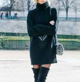冬天高個子怎么搭配裙子 屬于冬季的帥氣大長腿神話
