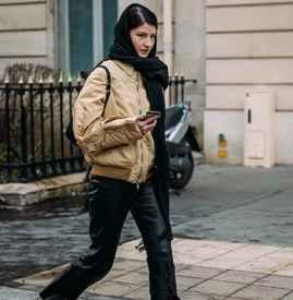 飞行夹克是不是要短一点 长高变瘦的秘密都在这