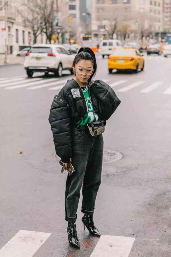 从土味到时髦炸街,这些好看到开挂的羽绒服不是谁都能挑战的