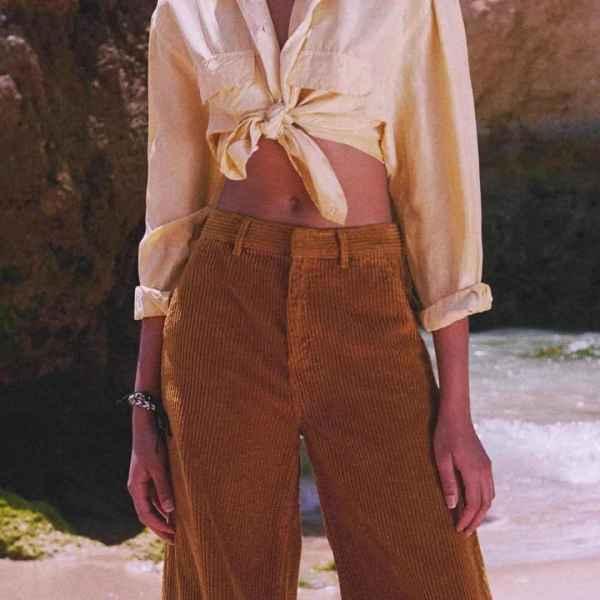 灯芯绒裤子的缺点 十分流行但小毛病也多