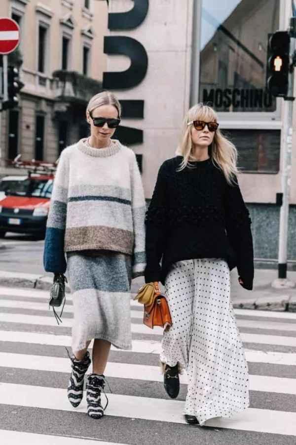 秋冬季 怎么穿都美!解码这个秋冬最时髦的毛衣款式