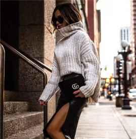 怎么穿都美!解碼這個秋冬最時髦的毛衣款式