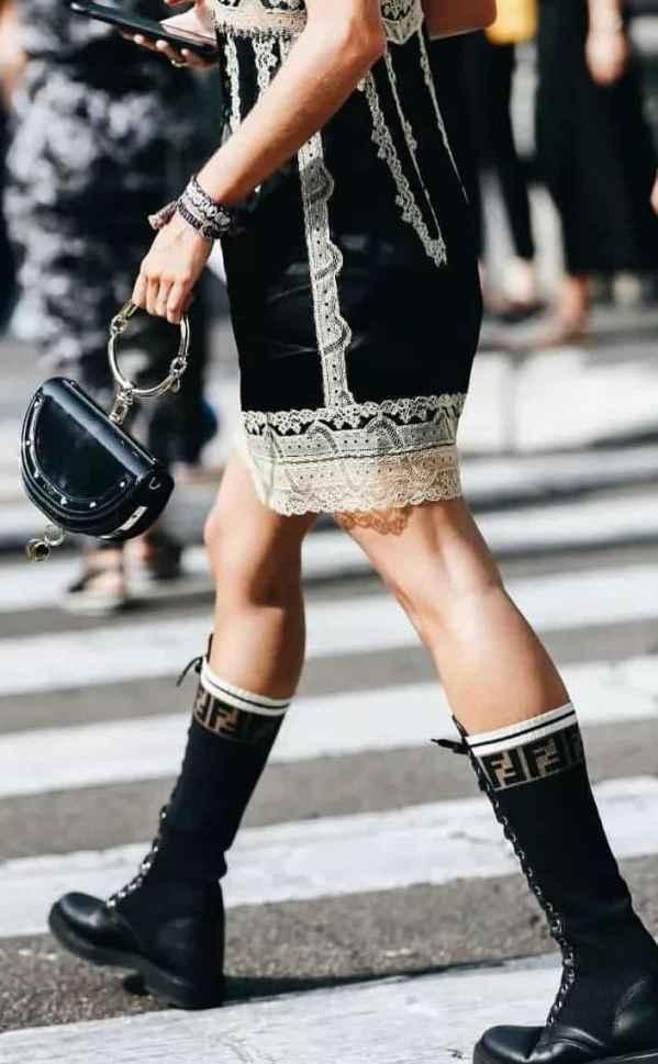 长筒靴搭配什么打底不会显腿粗 大腿长必看