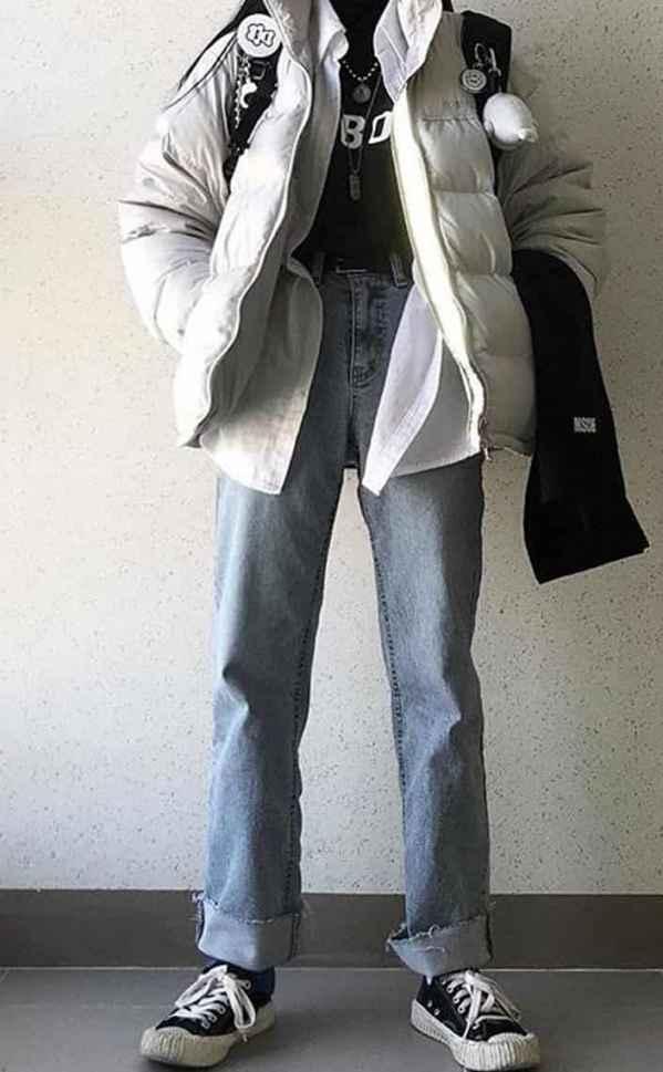 短款羽绒服怎么搭配鞋子 路在脚下走出自己的风格