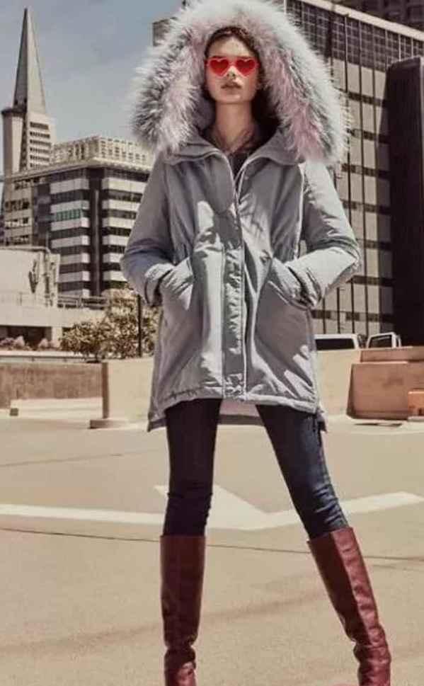 中长款羽绒服怎么搭配 美观又和谐的冬日暖阳