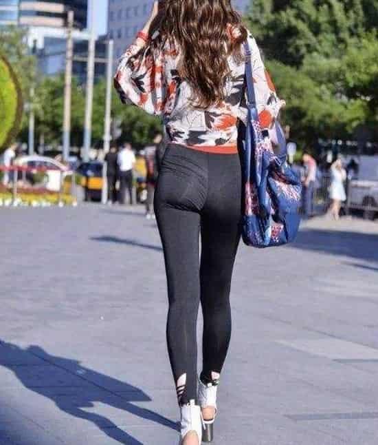 早春流行搭配 短款蝙蝠衫搭配什么 穿出完美身形