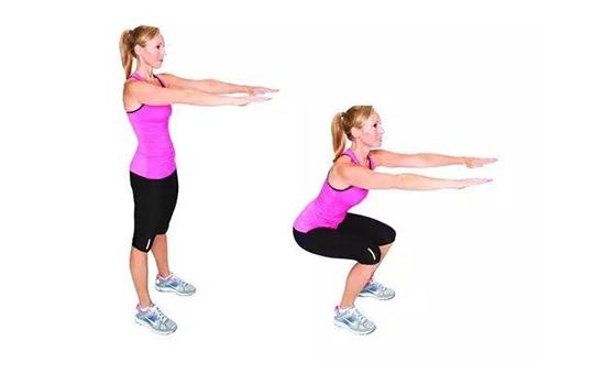 健身必不可少的动作——深蹲!