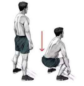 深蹲的好处 健身必不可少的动作