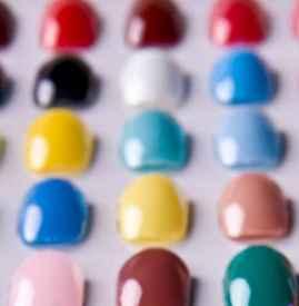 美甲色卡涂色方法步驟 最為直觀的美甲參考