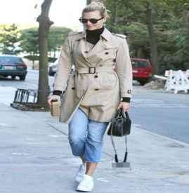 风衣搭配什么裤子 飘逸帅气又不能失了女人味