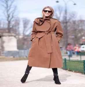 長款風衣里面怎么搭配 要溫度要風度更要美貌度