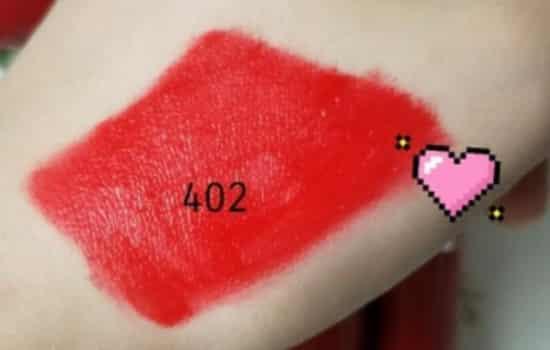 阿玛尼402和405俩支不同肤色的口红 黄皮肤就用402
