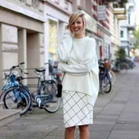 毛毛衣搭配 這樣搭配溫暖又時髦