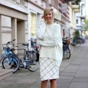 毛毛衣搭配 这样搭配温暖又时髦