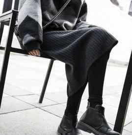 灰色打底袜怎么搭配 初春就应该这么穿