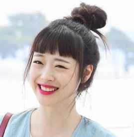 长脸适合齐刘海还是斜 圆脸妹子最好别剪齐刘海