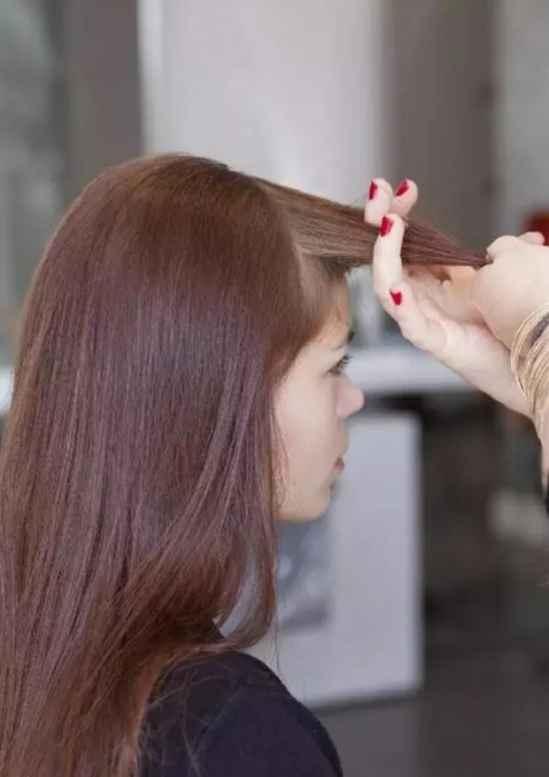 披头发侧边编辫子教程 清爽甜美的的编发一定要收藏
