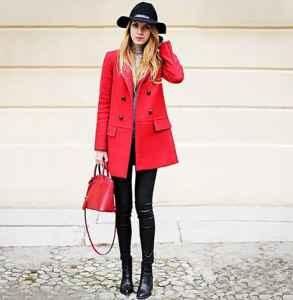 紅色風衣怎么搭配 八種搭配任你挑選