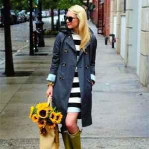 離成為女主角你還差一雙下雨天的時尚雨靴!
