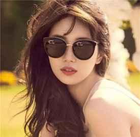 去韩国买什么,人气火爆秀智同款时尚墨镜CARIN墨镜