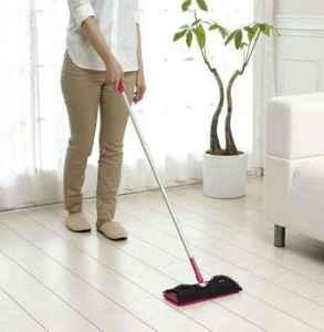 怎么拖地板干净不粘灰