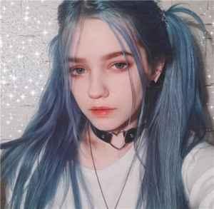 雾蓝色头发怎么染