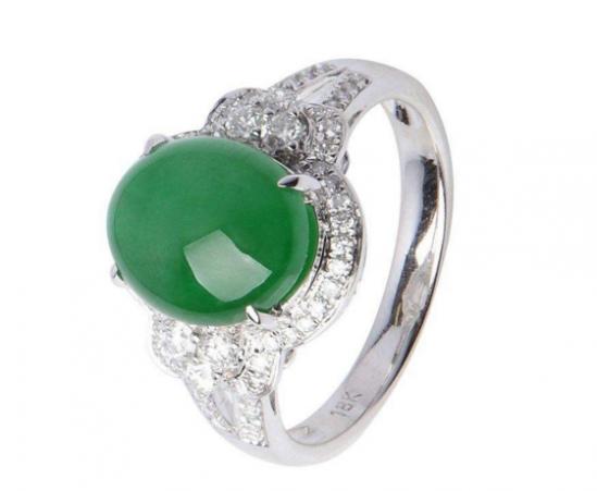 翡翠戒指多少钱