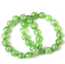 天然绿水晶手链的价格