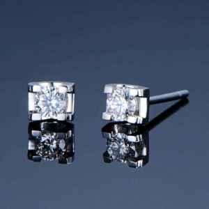 钻石耳钉怎么保养