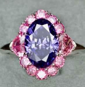 紫罗兰钻石是什么颜色