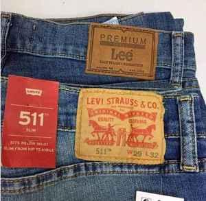 lee和levis哪個檔次高 lee和levis牛仔褲有哪些區別
