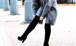 长筒靴老是往下滑怎么办 过膝长靴适合什么人穿