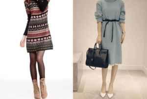 长款毛衣裙搭配什么鞋子 秋冬长款毛衣裙的魅力别错过了