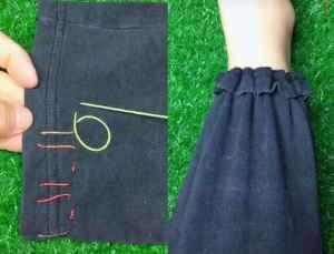 校服裤子怎么挽裤腿 这么卷简单结实又洋气