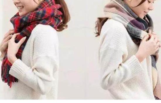 适合戴围巾的几种发型 不来看看吗?