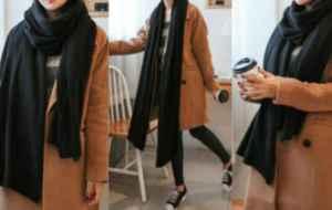 围巾什么颜色可以百搭 冬季围巾色彩选择及搭配