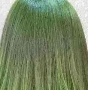 染了绿色能改棕色吗 头发染绿色好看吗