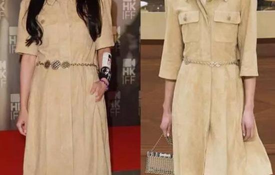 贡米色适合的肤色 贡米色大衣不挑肤色白色略微有些黄