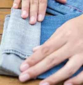 加絨牛仔褲怎么卷 掌握這三種方法就夠了