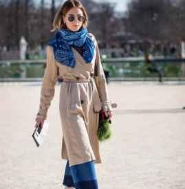 焦棕色风衣怎么搭 这样搭配极具时尚气息