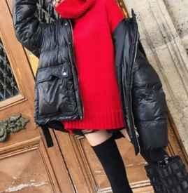 宽松毛衣搭配什么外套 同色系搭配保暖又时尚