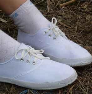 白鞋子怎么晒不会发黄 你晒对了吗