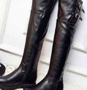 长筒皮靴皱了怎么办 长靴脚踝处为什么易褶皱