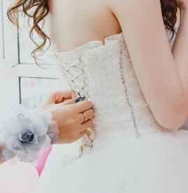 拍婚紗穿乳貼還是文胸 這些事情要弄清楚