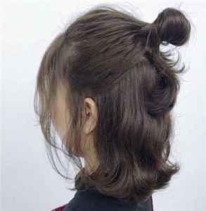 剪了短发显老补救措施 短发怎么扎丸子头