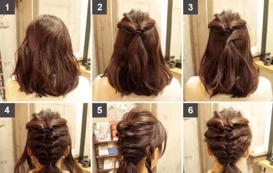 短发过度长发应该怎么打理