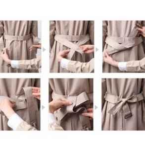 衣服飘带的系法图解 飘带的搭配你学会了吗