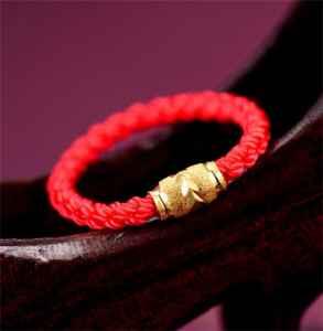 最简单一根红绳编法戒指图解 红绳这样编更好看