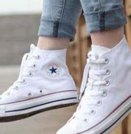 帆布鞋怎么系鞋带鞋舌不会歪 帆布鞋怎么系鞋带好看